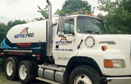 SepticPro septic tank pumping